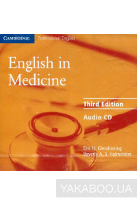 Фото - English in Medicine. Third Edition Audio CD (CD-ROM)
