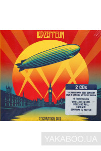 Фото - Led Zeppelin: Celebration Day (2 CDs) (Music Only Edition) (Import)