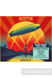 Фото - Led Zeppelin: Celebration Day (2 CD+ 2 DVD) (PAL Version CD Size Package) (Import)