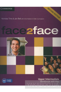 Фото - Face2face. Upper Intermediate Workbook with Key