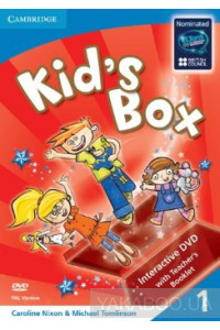 Фото - Kid's Box Level 1 DVD with Teacher's Booklet