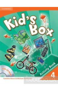 Фото - Kid's Box Level 4 Activity Book with CD-ROM