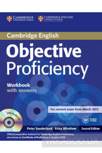 Фото - Objective Proficiency Workbook with Answers with Audio CD