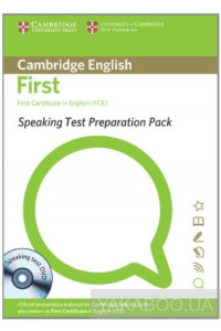 Фото - Speaking Test. Preparation Pack for FCE (+DVD)