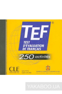 Фото - TEF. Test D'Evaluation de Francais. 250 Activites (Audio CD-ROM)