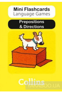 Фото - Prepositions & Directions (Mini Flashcards Language Games)