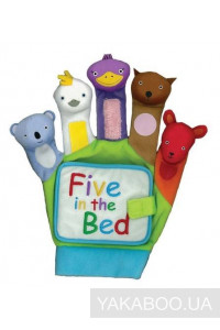 Фото - Five in the Bed. A Hand-Puppet Board Book