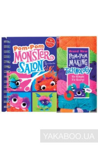 Фото - Pom Pom Monster Salon: Create, Cut & Style Your Own Monsters