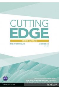 Фото - Cutting Edge Pre-Intermediate Workbook with Key