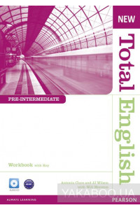Фото - New Total English Pre-intermediate Workbook (with Key) and Audio CD