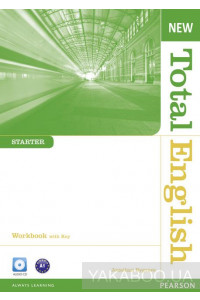 Фото - New Total English Starter Workbook (with Key) and Audio CD