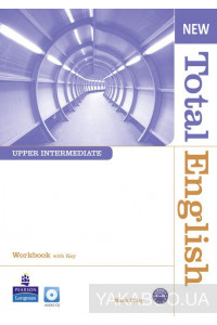 Фото - New Total English Upper Intermediate Workbook (with Key) and Audio CD
