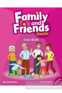 Фото - Family and Friends Starter: Class Book Plus Student Multi-ROM
