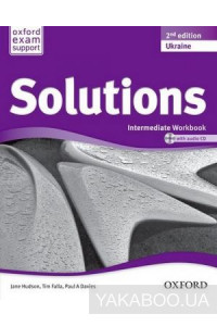 Фото - Solutions: Intermediate Workbook and Audio Pack. Ukrainian Edition (+ CD-ROM)