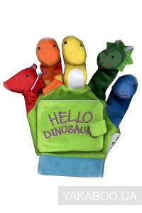 Фото - Hello, Dinosaurs! A Hand-Puppet Board Book