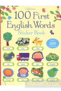 Фото - 100 First English Words Sticker Book
