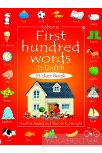 Фото - First Hundred Words in English. Sticker Book