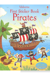 Фото - First Sticker Book: Pirates