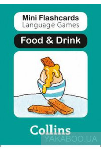Фото - Mini Flashcards Language Games. Food & Drink
