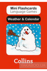 Фото - Mini Flashcards Language Games. Weather & Calendar