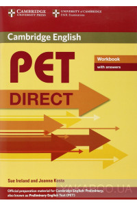 Фото - PET Direct Workbook with answers