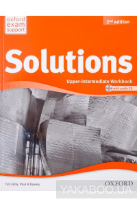 Фото - Solutions: Upper-intermediate. Workbook