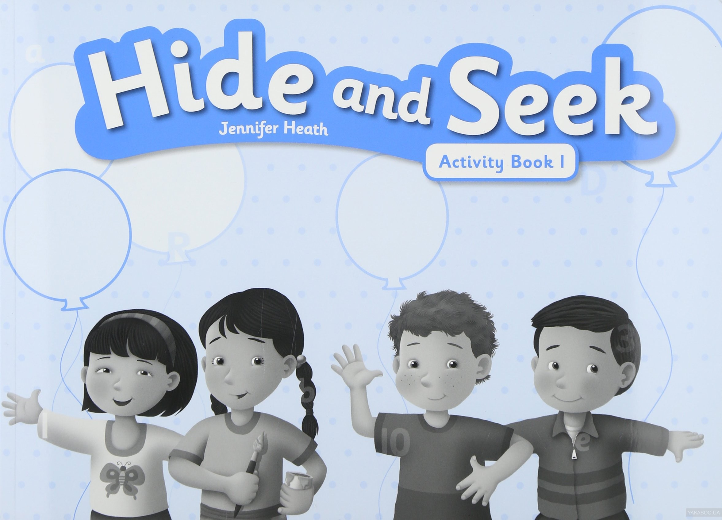 Hide & Seek: Activity Book Level 1 фото