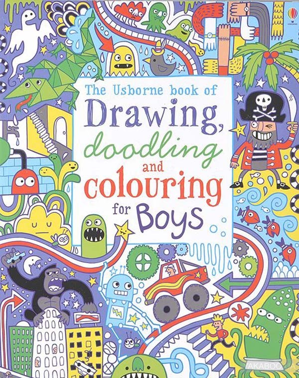 Drawing, Doodling and Colouring for Boys фото