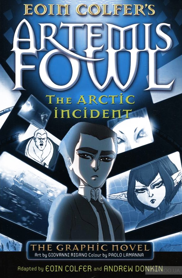 Artemis Fowl: The Arctic Incident Graphic Novel фото