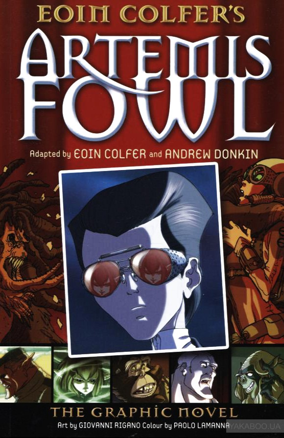 Artemis Fowl. The Graphic Novel фото