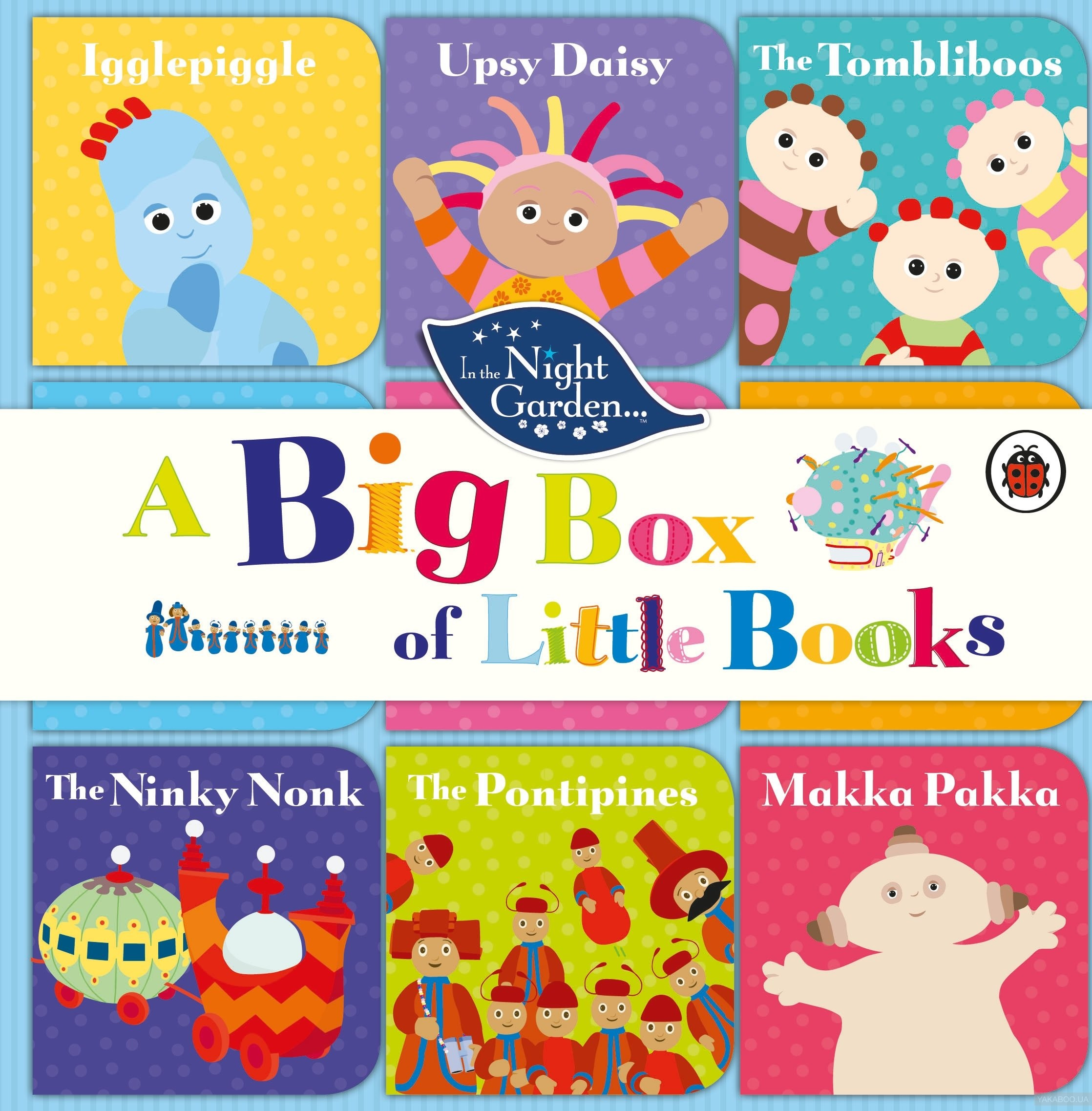 In the Night Garden: A Big Box of Little Books фото