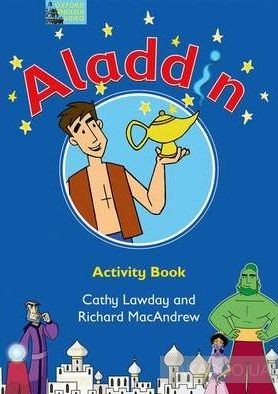 Fairy Tales Aladdin Activity Book