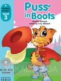 Puss in Boots. Level 3. Student's Book (+CD)