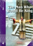 The man who would be king. Book with CD. Level 4 фото