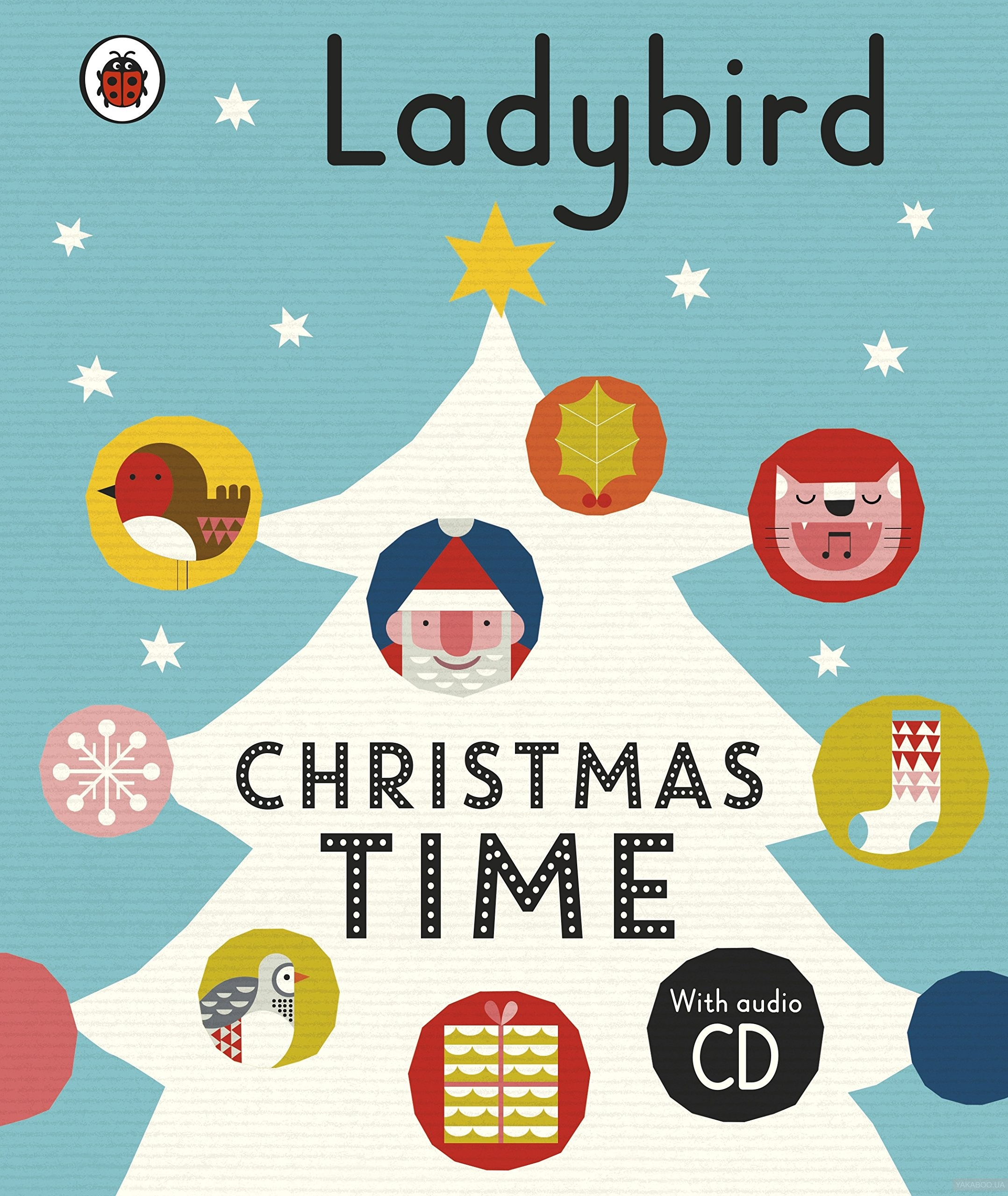 Ladybird Christmas Time: Treasury and Audio CD фото