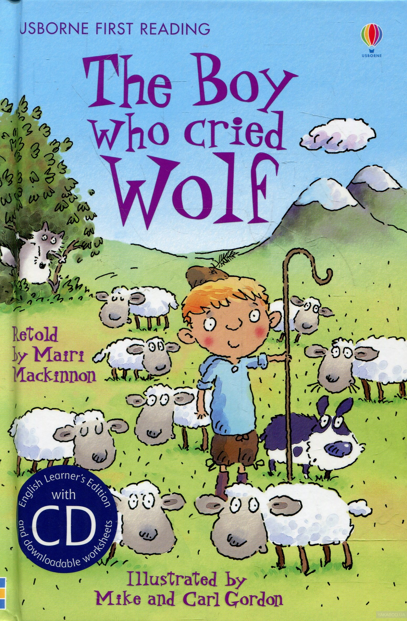 The Boy Who Cried Wolf (+ Audio CD) фото
