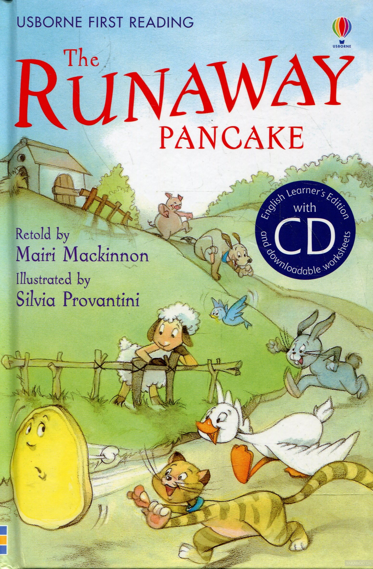 The Runaway Pancake (+ Audio CD)