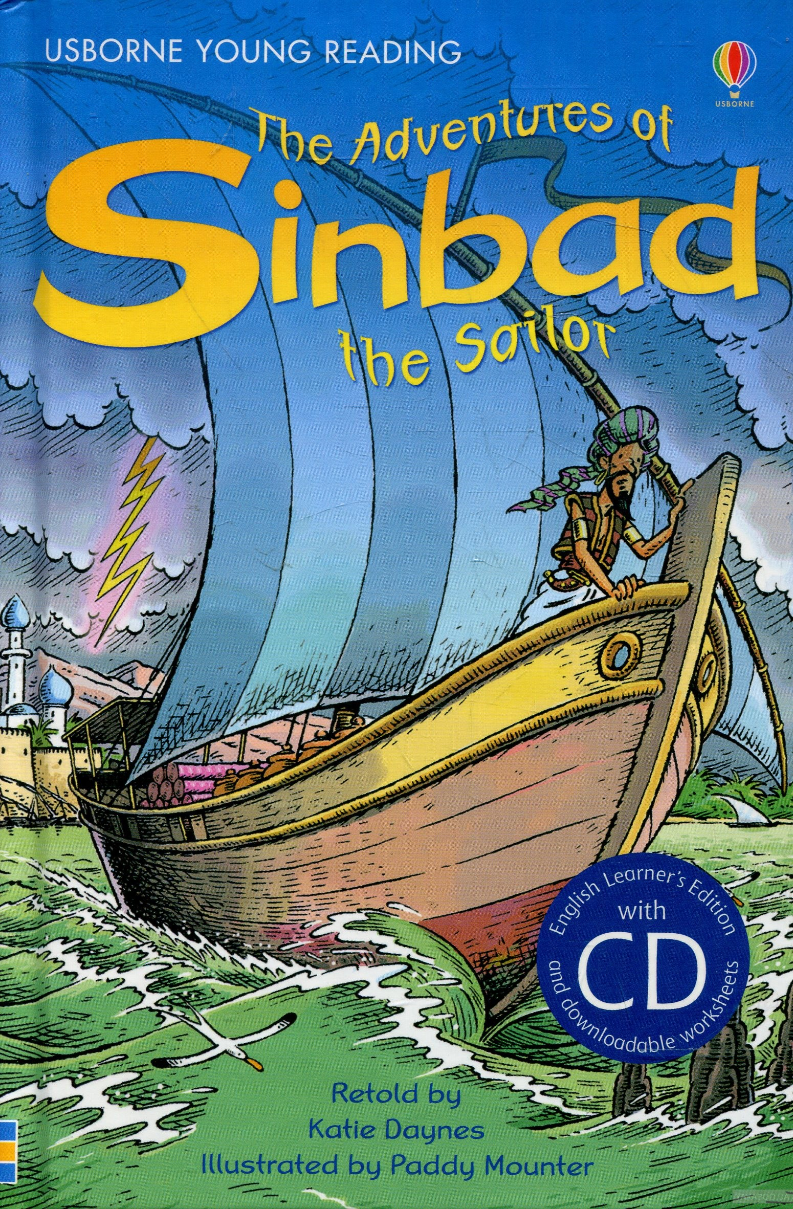 The Adventures of Sinbad the Sailor (+ Audio CD) фото