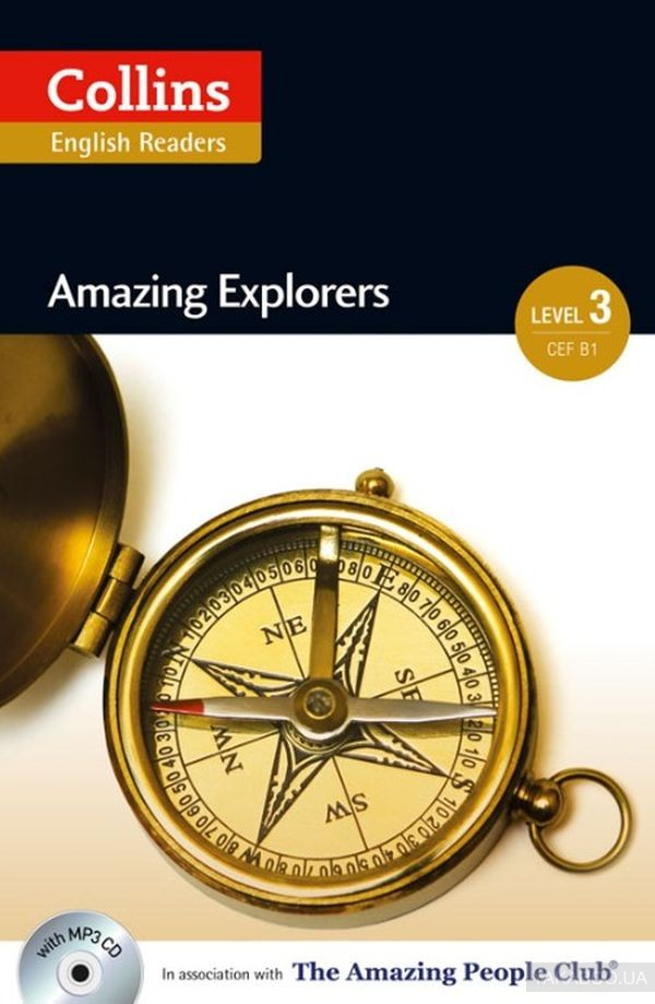Collins Amazing People: Amazing Explorers Level 3 CEF B1 (+ CD-ROM)