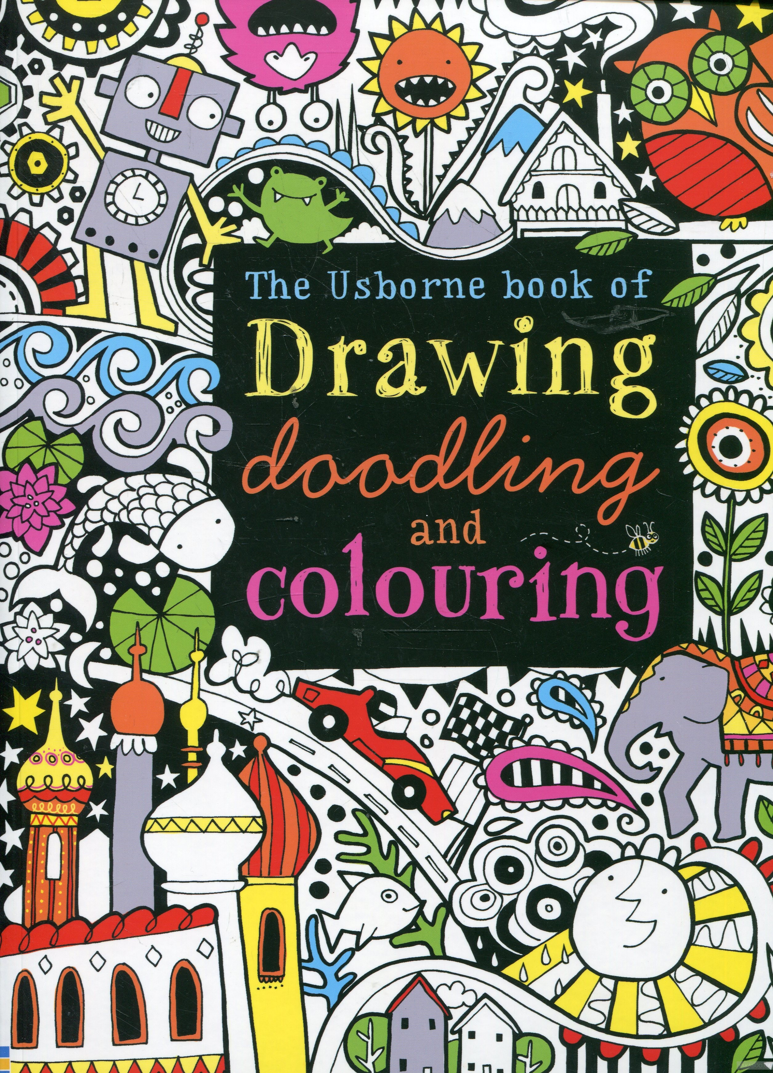 The Usborne Book of Drawing, Doodling and Coloring фото