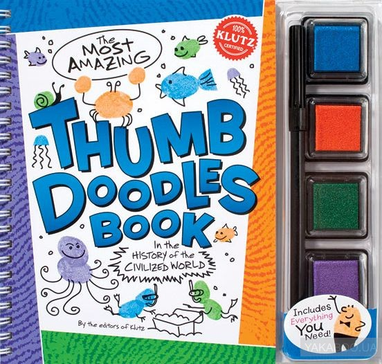 The Most Amazing Thumb Doodles Book фото