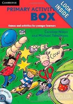 Primary Activity Box Book and Audio CD: Games and Activities for Younger Learners