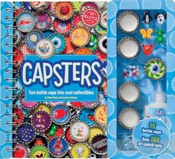 Capsters: Turn Bottle Caps Into Cool Collectibles фото