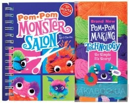 Pom Pom Monster Salon: Create, Cut & Style Your Own Monsters фото
