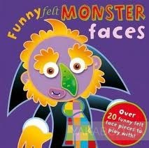 Funny Felt Monster Faces