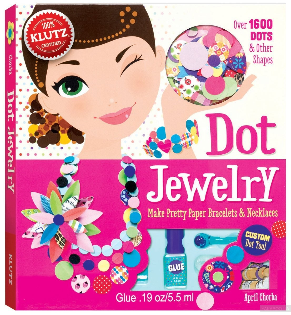 Dot Jewelry: Make Pretty Paper Bracelets & Necklaces фото