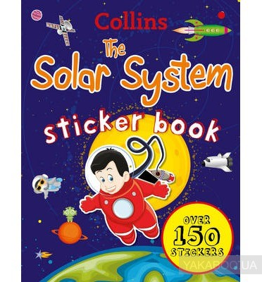 Collins The Solar System Sticker Book