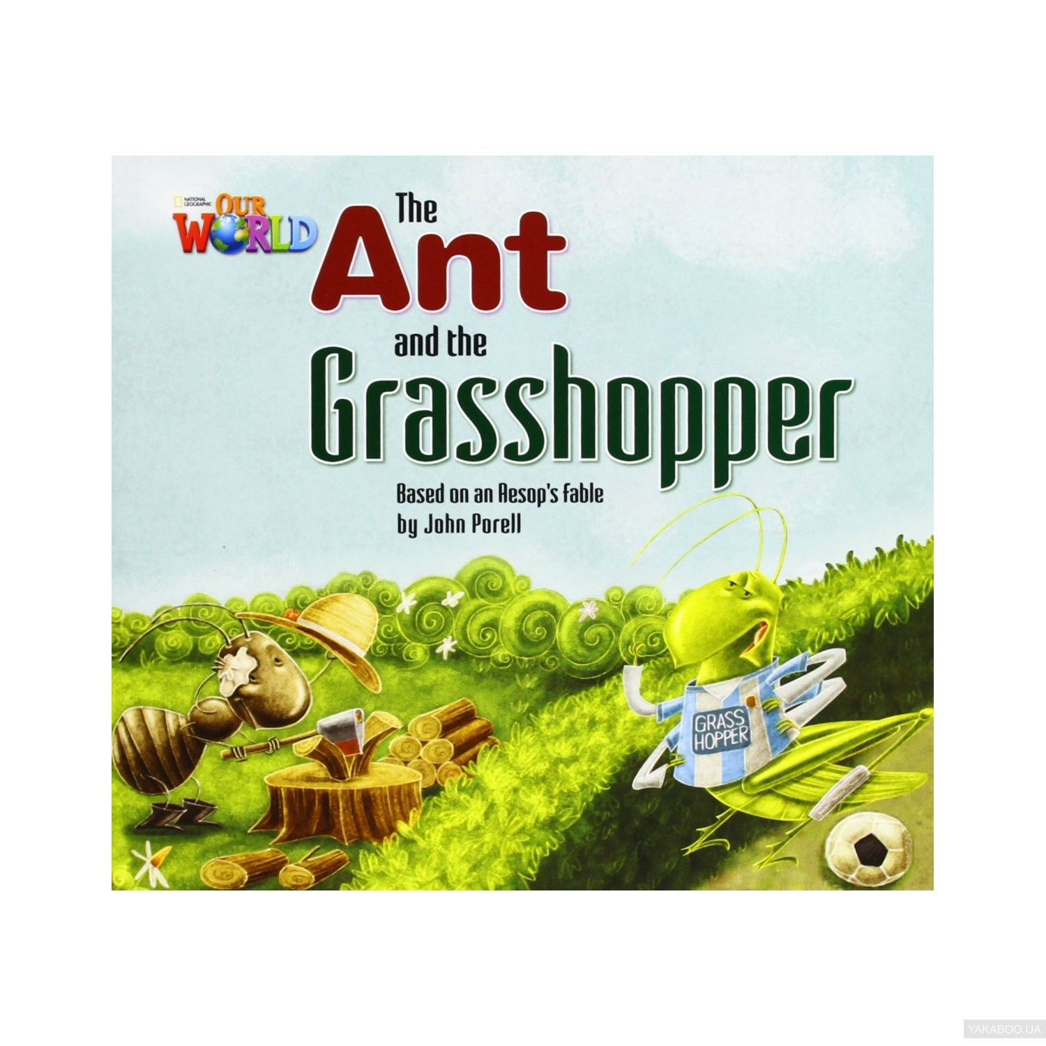 The Ant and the Grasshopper Reader