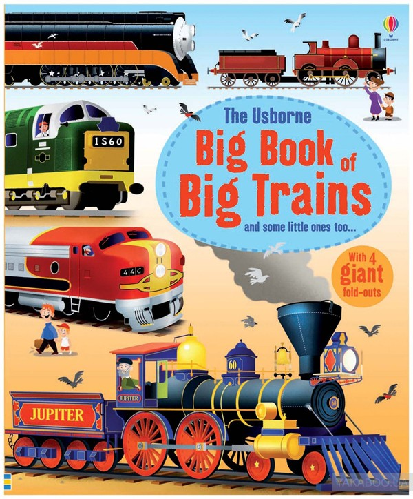 Big Book of Big Trains фото