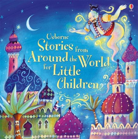 Stories from around the world for little children фото